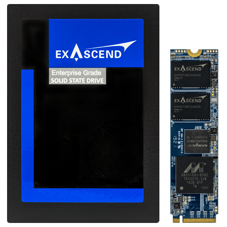 Exascend's PE3 series of enterprise-grade SSDs