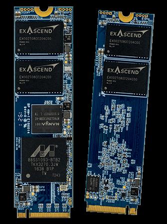 Exascend's PE4 series of enterprise-grade SSDs