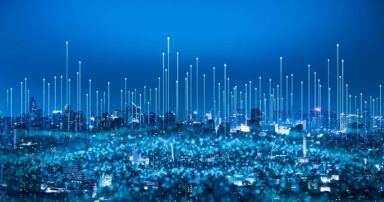 Edge computing in a hyper-modern smart city